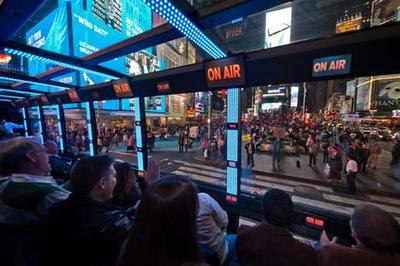 THE RIDE - Times Square