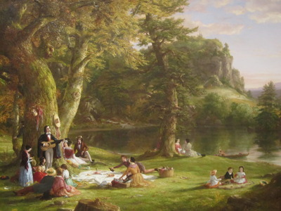 Thomas Cole's The Picnic, Billy Hathorn, Wikipedia