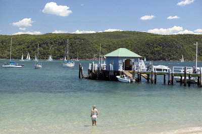 The Palm Beach jetty, where the ferry takes you across the Pittwater. ta (c) used with permission