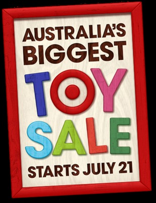 Australia's Biggest Toy Sale at Target