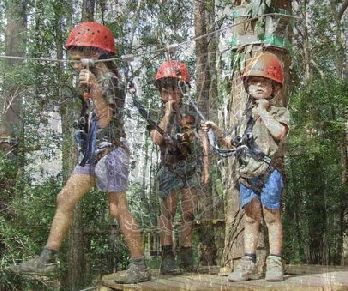 TreeTop Adventure Park caters to all ages