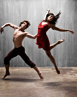 Two Dancers, by Barry Goyette