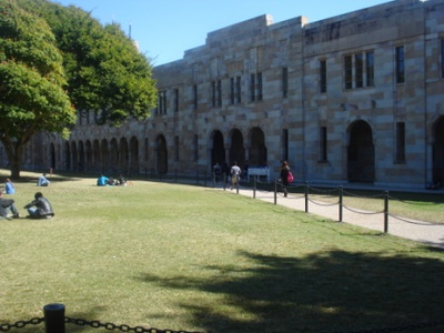 university of queensland great court photo by michelle macfarlane