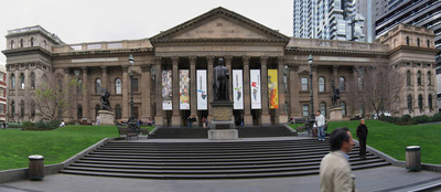 Exterior of the State Library of Vic