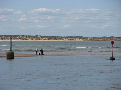 Looking across to Ocean Grove