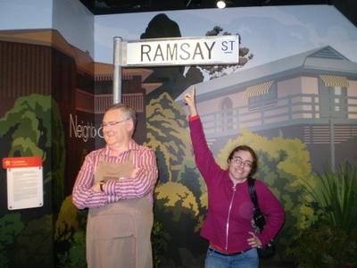 Wax Figure Of Harold Bishop & I