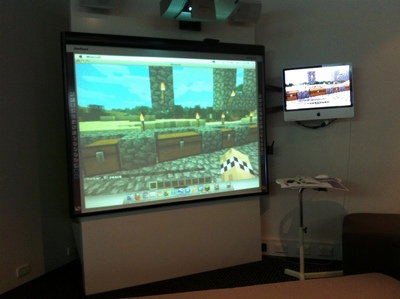Minecraft Workshop at Powerhouse Museum