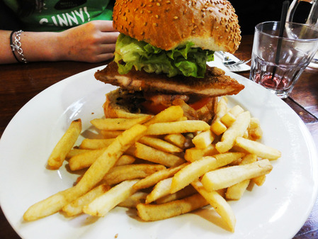 Chicken Schnitzel Burger The German Arms Adelaide By Natasha Stewart