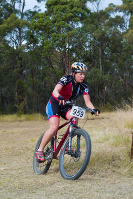 Competitive mountain biking (c) Australian Bicycle Network