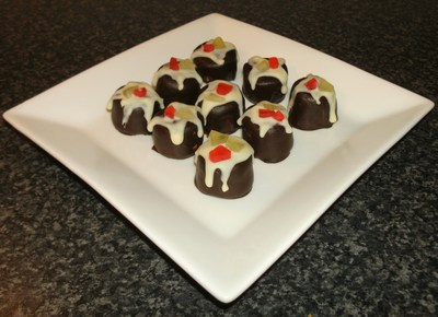Xmas marshmallow puds